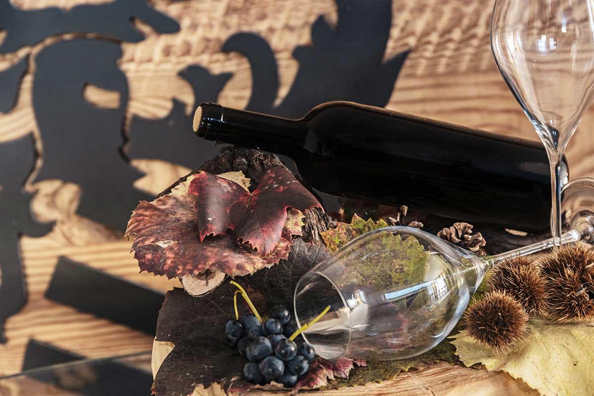 degustazione agriturismo sicher vino