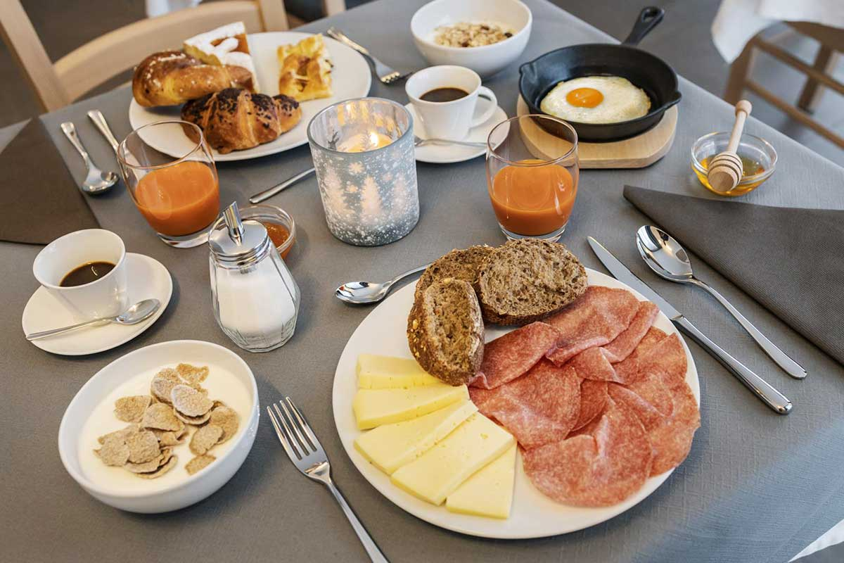 colazione agritur sicher