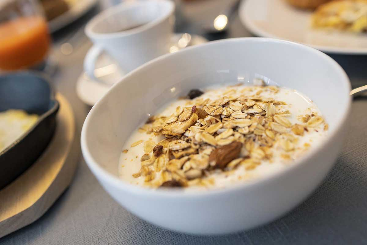 colazione e yogurt agriturismo sicher