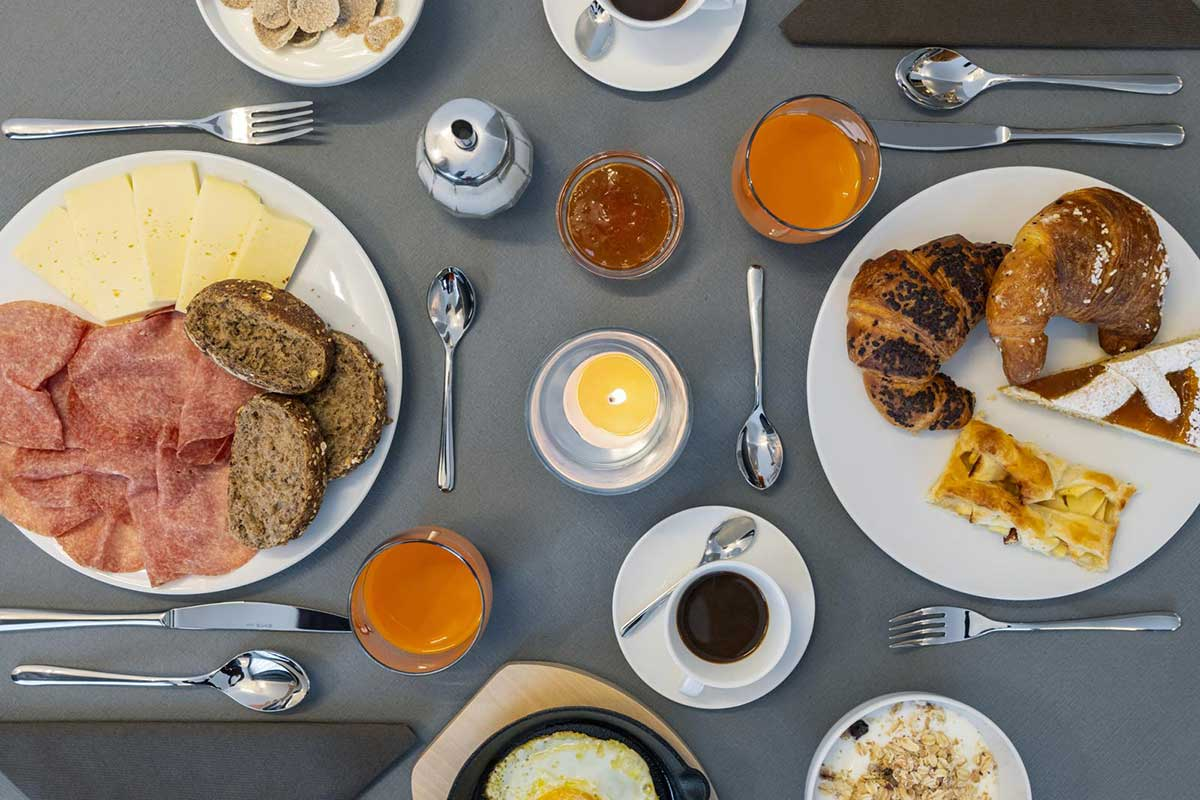 pronto in tavola, la colazione